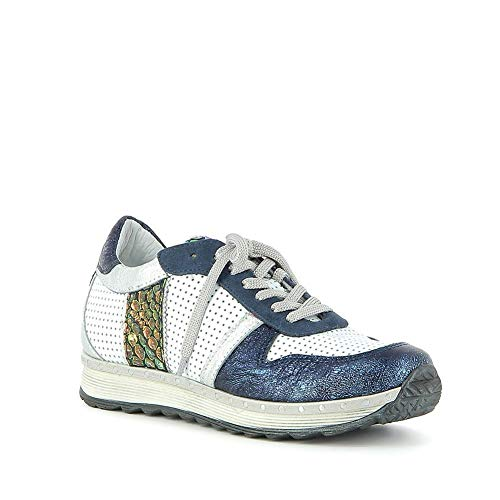 Khrio - Sneakers en Cuir Effet froissé