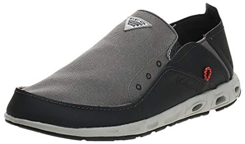 Columbia Men's Bahama Vent PFG Boat Shoe , Waterproof & Breathable, 11 Regular US, titanium mhw,...