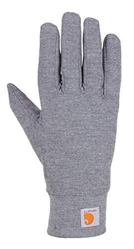 Carhartt Men's Heavyweight Force Liner Glove, Shadow Heather, XL