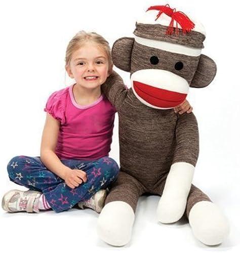 Schylling Jumbo Sock Monkey by Schylling