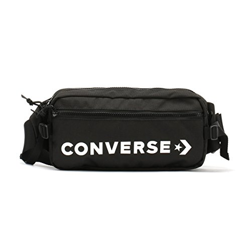 Converse Hip Pack 10006946-A01 sporttas, 26 cm, 2 L, zwart