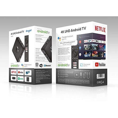 Engel TV Box EN1015K Android TV, 4K, UHD