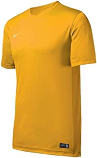 yellow nike soccer jersey