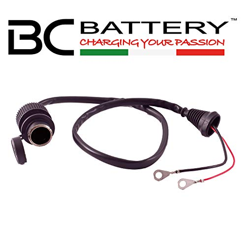 BC Battery Controller 710-SACC612V Prise Allume-Cigare 12 V Etanche avec Œillets