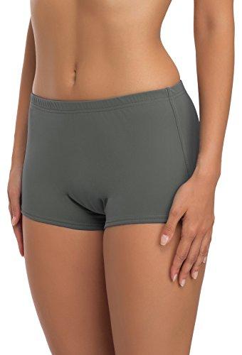 Merry Style Damen Badeshorts Bikinihose Modell L23L1 (Grau (9168), 44)