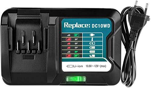 CYDZ Reemplazar BL1015 Makita batería Cargador rápido Decker DC10WD 10.8V 12V compatible con BL1015 BL1016 BL1020B BL1021B BL1040B BL1041B batería Cargador DC10SB DC10WC DC10WA