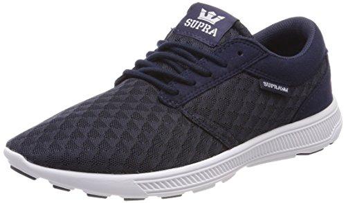 Supra Herren Hammer Run Sneaker, Blau (Navy/LT Grey-White), 42 EU