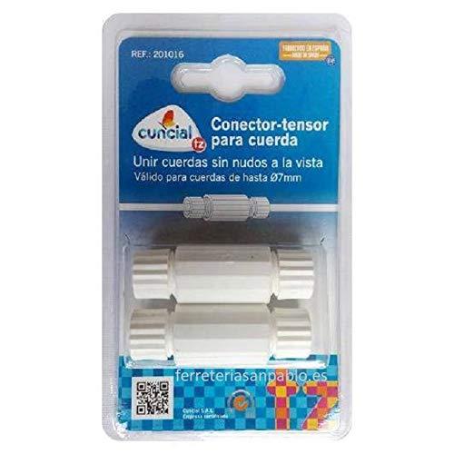 2 Conectores - Tensores de Cuerdas para Tendedero