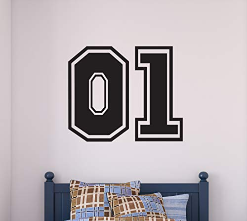 """General Lee 01 Wall Decal - Robert E. Lee Car Jump Black Vinyl Design Home Room Decoration CG1898 (22"""" Width by 18"""" Height)"""