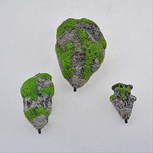 Simulation von schwimmenden Stein Aquarium Landschaftsbau Dekoration künstliche Bimsstein Avatar Wasser Gras Landschaftsbau Stein ausgesetzt Stein