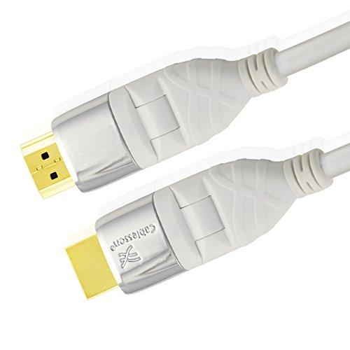 Mackuna Flex Plus 1M Cable de extensión HDMI - Audio - Video...