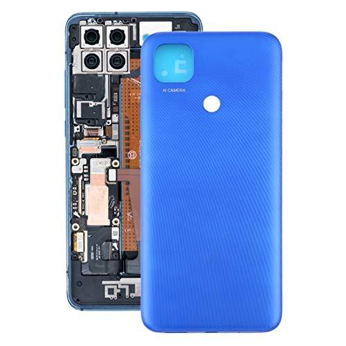 JLZK Robusto M2004C3MI, M2006C3MII, M2006C3MNG, Funda de Respaldo Original de la batería Compatible with Xiaomi Redmi 9C / REDMI 9C NFC/REDMI 9 (India) / M2006C3MG Durable (Color : Blue)