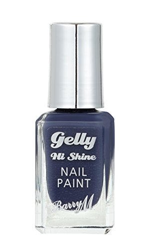 Barry M Gelly Nail Paint, Blue Jade