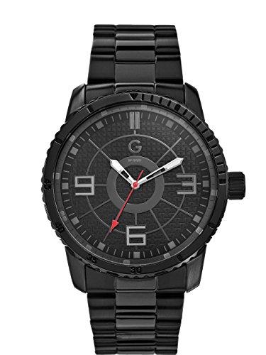 G by GUESS - Reloj para Hombre, Talla Grande, Color Negro