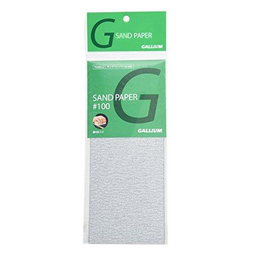 ガリウム サンドペーパー #100(4枚入り) TU0032