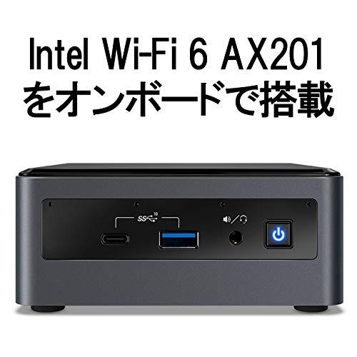 『INTEL NUC L10 BXNUC10I3FNHFA ミニPC 完成品 i3-10110U / Optane 16GB / 1TB / Win10 ACコードC5なし 日本正規流通商品』のトップ画像