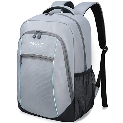TOURIT Insulated Cooler Backpack Lightweight Backpack Cooler Bag Leak-Proof...