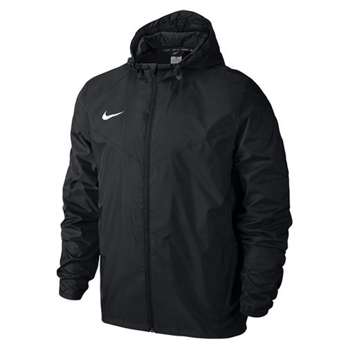Nike Team Sideline Rain Jacket Chaqueta Impermeable, Hombre, Negro / Blanco (Black / White), M