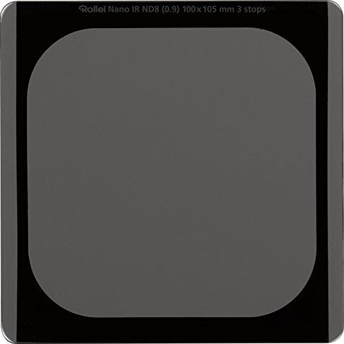 Rollei Filtro rectangular profesional ND 8 (3 Stops) filtro de densidad neutra vidrio óptico HD 100x100 mm