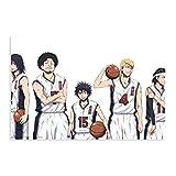 Anime_Ahiru_no_Sora_Póster de lona de baloncesto para decoración de dormitorio, paisaje, oficina, habitación, regalo de 30 x 45 cm. Unframe: