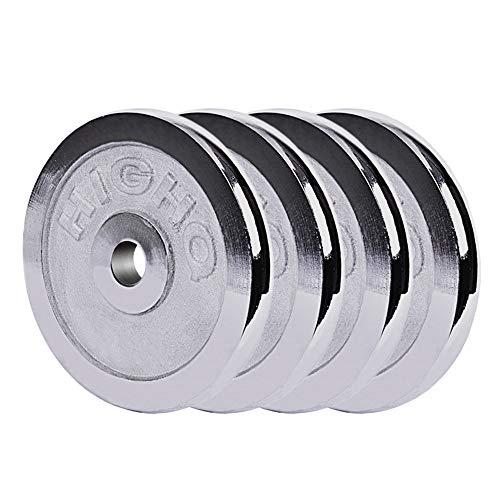 Hantelscheibe Krafttrainings Gewichtsplatte Langhantel Gewichtsscheibe,4x1kg