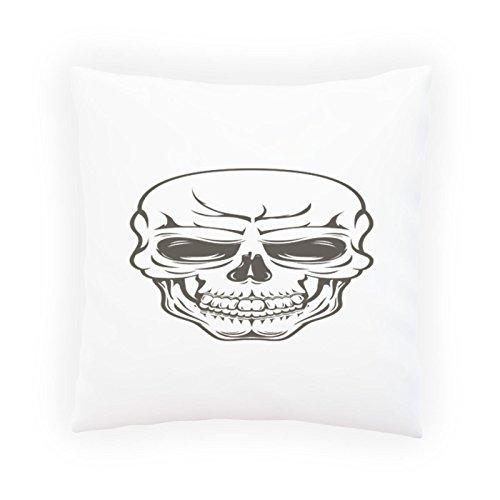 Crâne Inspiration Vintage Funny Nouveauté Taies d'oreillers décoratif, Housse de coussin avec insérer ou sans, 45x45cm b115p