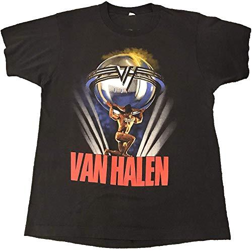 Vintage 1986 Van Halen World Tour T Shirt for Adults