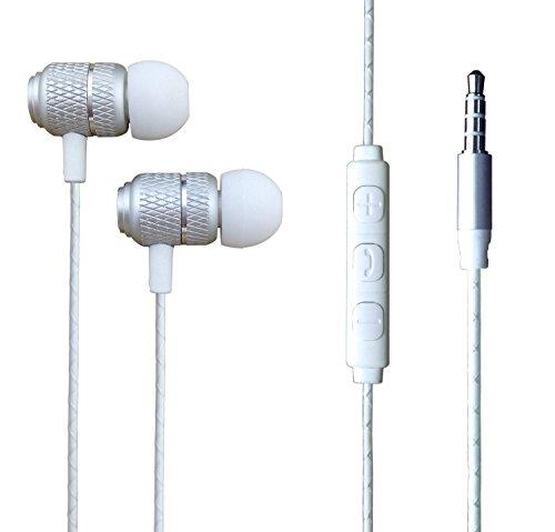 iPro Zubehör für Mi A3 Kopfhörer, Mi A3 Kopfhörer 【Premium Qualität】 Wired Bass Stereo In-Ear-Kopfhörer mit Fernbedienung und Mikrofon mit 3,5 mm Klinkenstecker