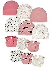 مجموعة من 12 قطعة من قبعة وقفاز الأطفال من قطعة واحدة