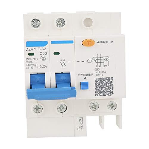 Transformación de la red rural de protección contra fugas eléctricas del interruptor diferencial RCCB para la decoración del hogar