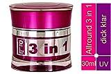 World of Nails-Design ProLine UV-Gel, Nagelgel klar'3 in 1' dick viskose 30ml