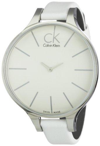 Calvin Klein K2B23101 - Reloj analógico de mujer de cuarzo con correa...