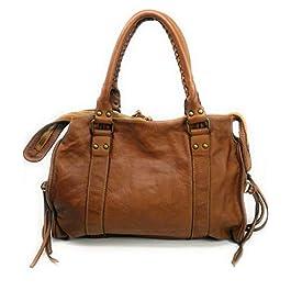 OH MY BAG Sac à main Cuir porté main épaule bandoulière et de travers Femmes en véritable cuir fabriqué en Italie…