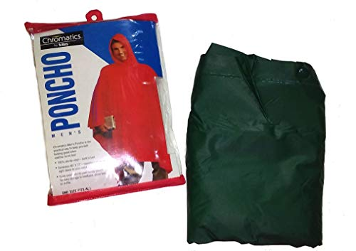 Chromatics by totes Men's Rain Poncho -- one size fits all