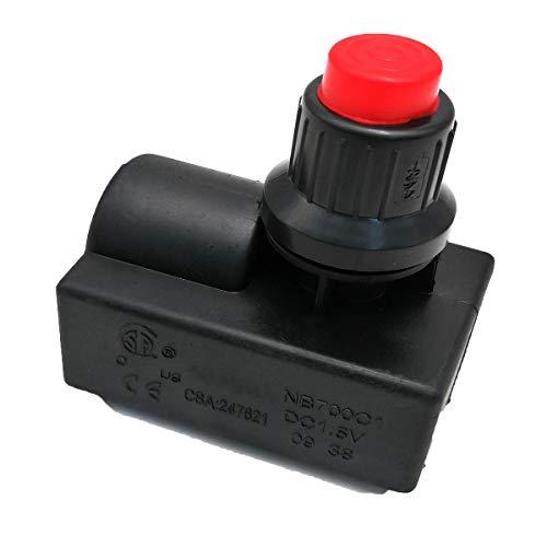 MENSI-Propangas-Heizpatrone, Austausch eines elektronischen AAA-Batterie-Impulszünders (Ausgang 1)