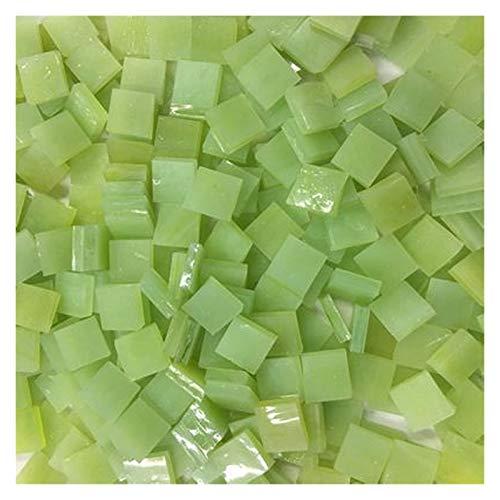 SKVVIDY Teselas 100 unids/Lote Mosaico de Cristal de Cristal Mosaico Material Creativo Hecho a Mano para niños DIY Craft Suppies Color Mezclado Mini azulejo Mosaico 100 g/Lote Mosaico Ceramica