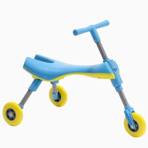 MEKBOK Fly Bike Foldable Indoor/Outdoor Toddlers Glide Tricycle