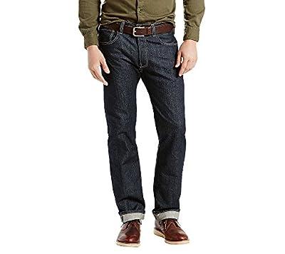 Levi's Men's 501 Original Fit Jeans, Clean Rigid, 42W x 32L