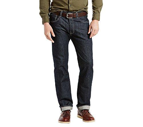 Levi's Men's 501 Original Fit Jeans, Optic White, 38W x 34L