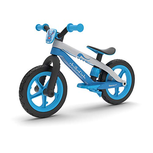 Chillafish CPMX02 Bmxie 2 leichtes Laufrad mit integrierter Fußstütze und Fußbremse, für Kinder 2 bis 5 Jahre, 12