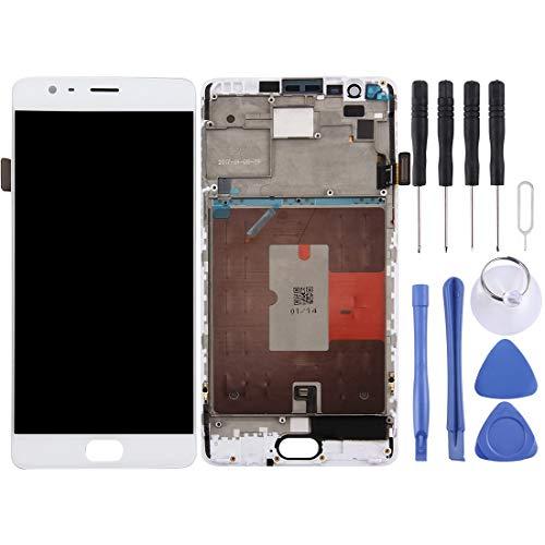 smartphone oneplus 3t ASAMOAH Display LCD sostitutivo del Telefono Cellulare Schermo LCD e digitalizzatore Assemblaggio Completo con Cornice per OnePlus 3T