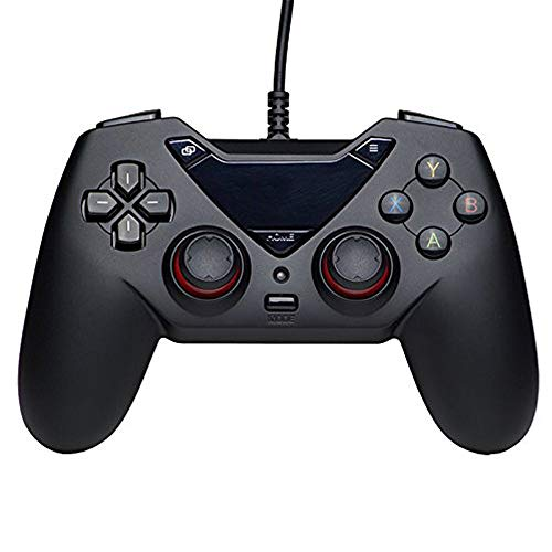 ZQY Con conexión de Cable de Dispositivo de Juego USB Gamepad for PCxbox360 Android NBA2K19 Asesino PC USB TV Fútbol en Vivo Vapor Monster Hunter Mundial