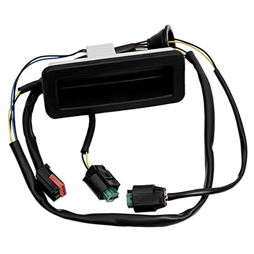 XICION Interruptor de liberación del Bloqueo de la Puerta Trasera del Tronco para el Land Rover Freelander 2 Coche ATRÁS DE LIBERACIÓN DE LIBERACIÓN DE REPRODUCTOS DE REPRODUCCIÓN (Color : Negro)
