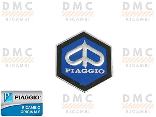 EMBLEMA logo ESAGONALE PIAGGIO sticker