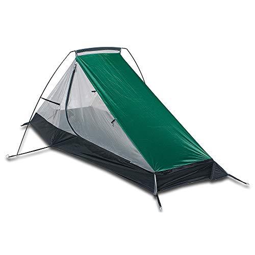 Aqua Quest West Coast Vivac Combo - 100% Impermeable Equipo de Acampar con Lona 3 x 4 m y Tienda de Campaña, Estacas, Correas de Compresión, Saco