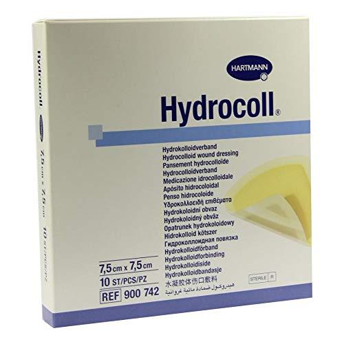 Hydrocoll Wundverband 7,5x7,5 cm, 10 St