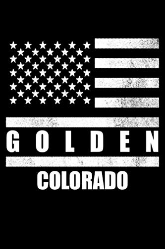 Golden, Colorado: Notebook - Diary - Journal - 110 pages