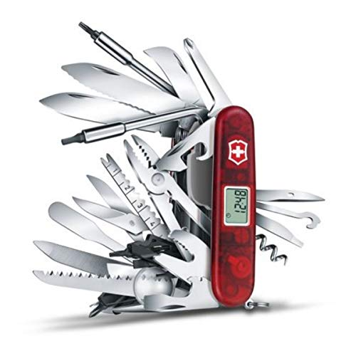 Victorinox 1.6795.XAVT Swiss Army Swisschamp Xavt Pocket Knife,Multi