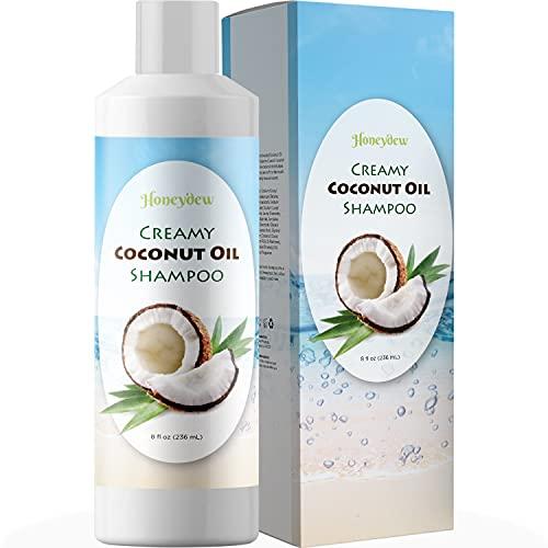 Moisturizing Shampoo for Dry Hair Care - Sulfate Free Shampoo for Men and Women with Keratin Jojoba...