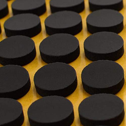 CD Klebepunkte   CD Haltepunkt Befestigung   Weiß oder schwarz   80 oder 1000 Stück   16 mm Durchmesser   4 mm Höhe   Klebepunkte zur Fixierung von CD/DVD/Blu-ray/schwarz 80 Stück